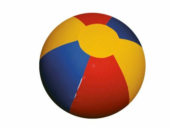 06.Paardenvoetbal Cover; voor 100cm kleur rood geel blauw