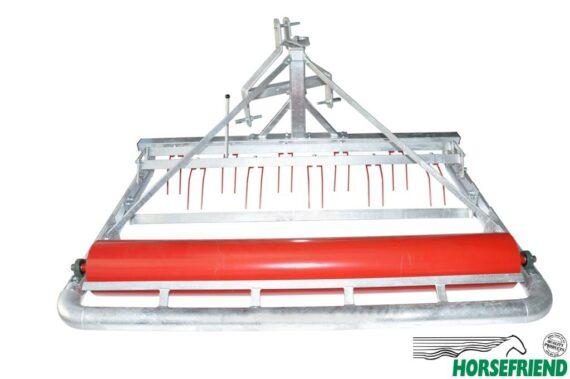 01.Allround bodemvlakker 180cm; maakt los, verdeelt en drukt aan