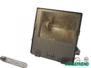 02.Lichtbak voor lichtmast; inclusief 400 Watt hogedruk kwiklamp