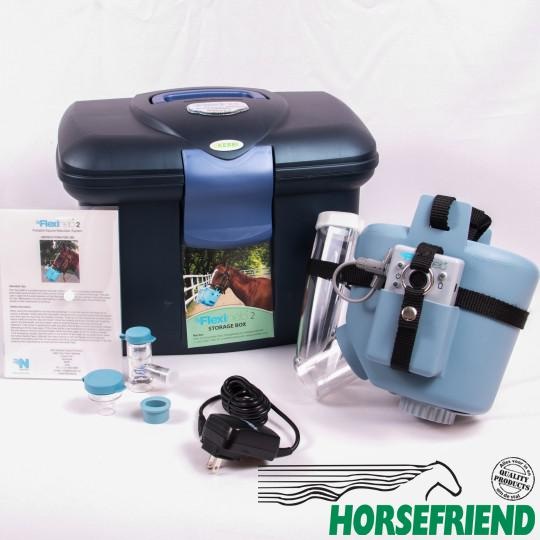 02.Flexineb 2 dampmasker pony; complete set