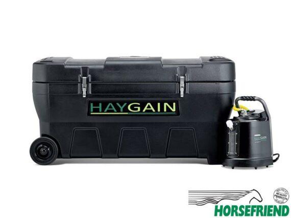 01.HAYGAIN HG-2000; geschikt voor een hele baal. Afm. 1435x 865x 730(h)mm