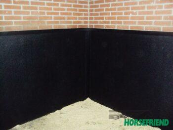 02.Horse Comfort Wallmat; lichtgewicht celrubber. Afm.1830x 1220mm. Dikte 25mm. Prijs pstuk