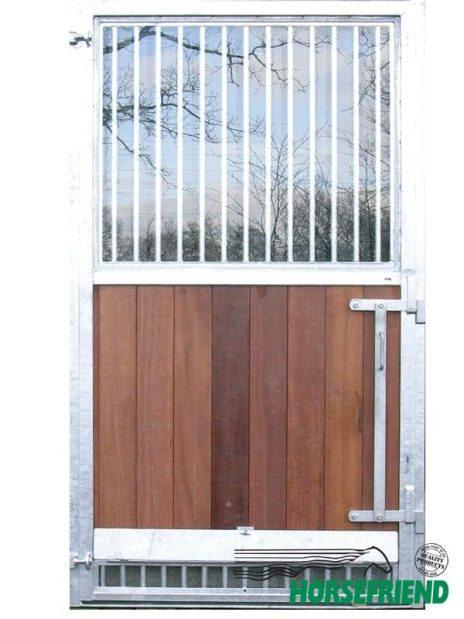 03. Buitendeur ééndelig; boven veiligheidsglas