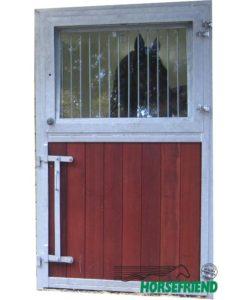 04.Buitendeur ééndelig incl. draaibaar bovendeel