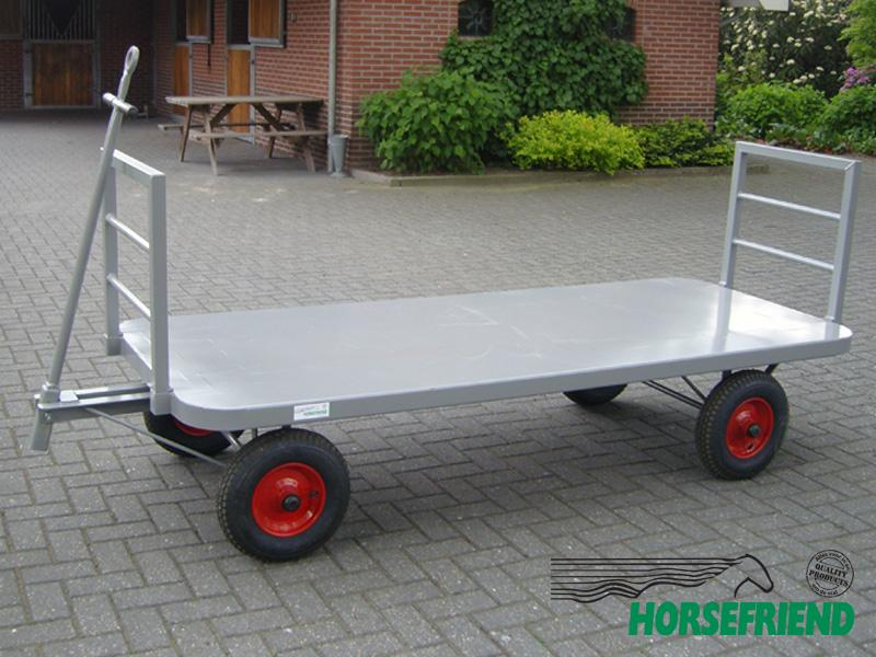 18.Schamelwagen 250x 100cm; draagverm. 1500kg