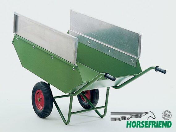 03.Aluminium zijplaten voor vaste mestwagen