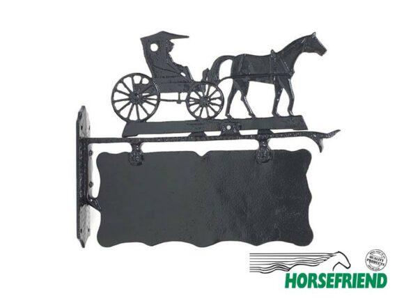 02.Uithangbord paard met koets