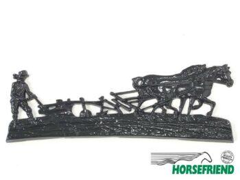03.1 Ploegend paard groot model