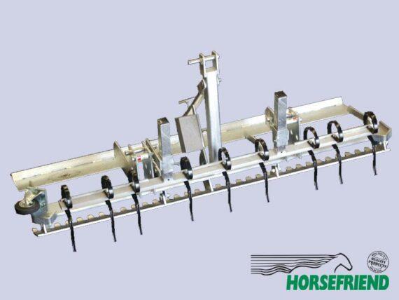 08.Bodemvlakker voor geosnippers in combinatie met voorzetstuk