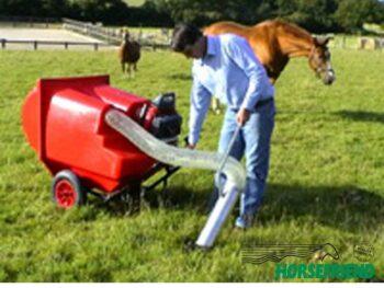 06.Wielset voor handmatig verplaatsen van de paddock cleaner