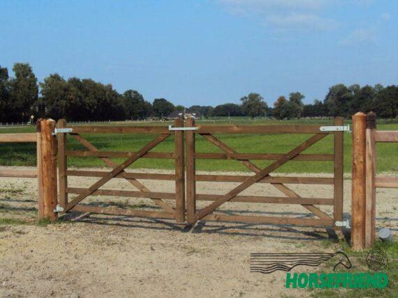 02.Engelse poort; rechtmodel. 180cm breed; enkele uitvoering