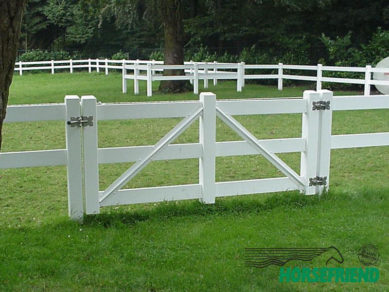 03.Enkele poort Heritage; in div. afmetingen. In combinatie met geklonken hang- en sluitwerk