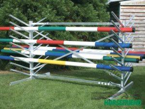 05.Stelling voor hindernisbalken; dubbelzijdig