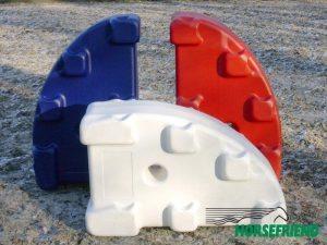 01.Masterjump block; verkrijgbaar in diverse kleuren