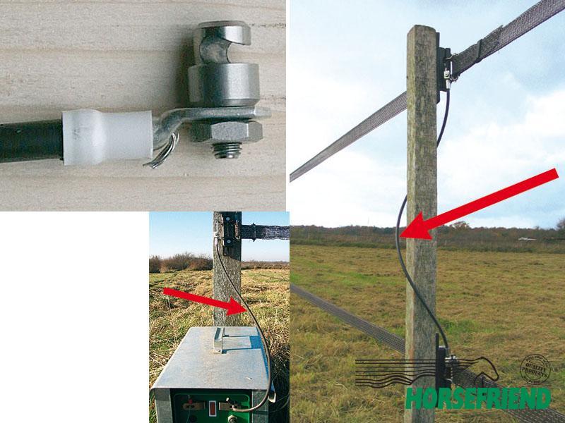 13.Verbindingskabel; stroomdoorvoer tussen twee verschillende hoogtes