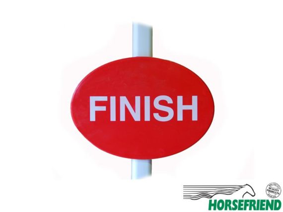 13.Finish markering; excl. paal