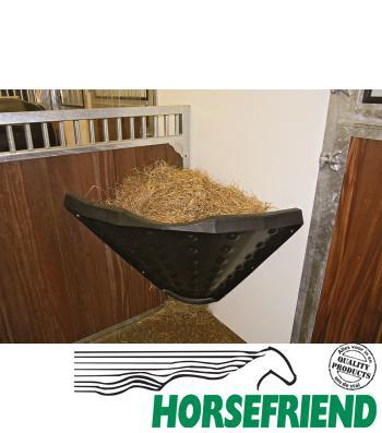 07.Haybar for horses. Ideaal om het hooi bij elkaar in de stal te houden.