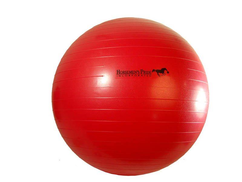 01.Paardenvoetbal Jolly Mega Ball; 65cm kleur rood