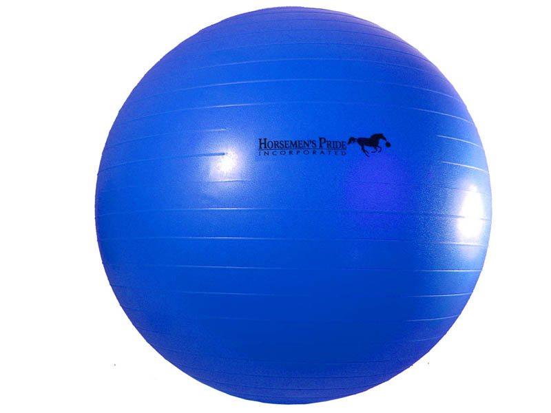 02.Paardenvoetbal Jolly Mega Ball; 75cm kleur blauw
