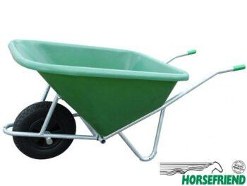 07.Kunststof kruiwagen met één wiel; inh.200ltr.
