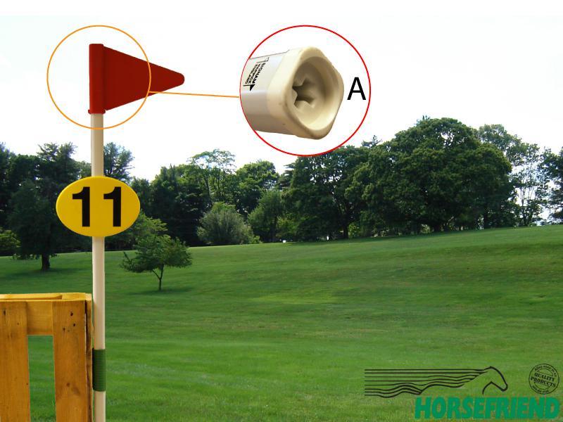 09. Kunststof paal voor markering
