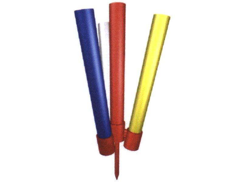 12.Vlaggenhouder van metaal