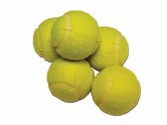 60.Tennisballen 5st.
