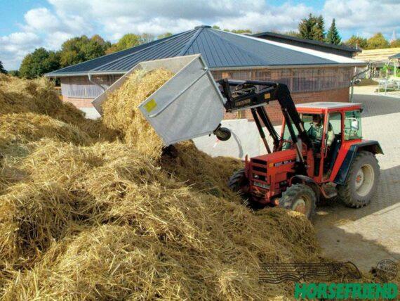 01.Transportcombi voor tractor met frontlader.