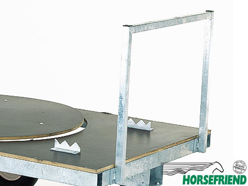 04.Vangbeugels voor schamelwagen met een afmeting van 125x 250cm