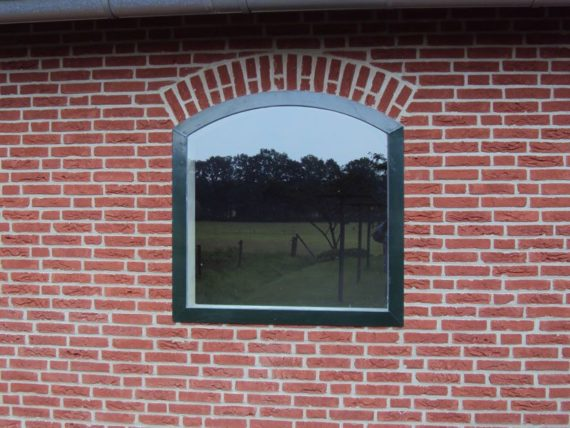 02.1 Vast raam; 100x100cm