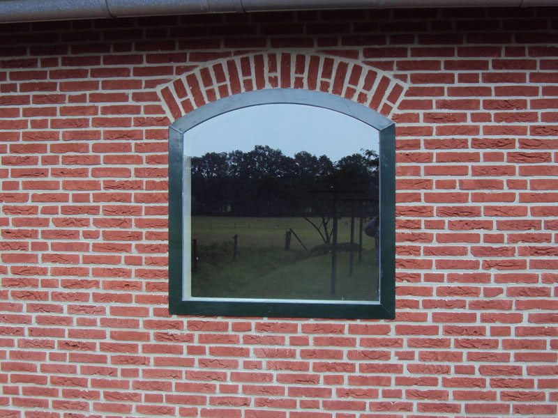 02.2 Binnenbak voor vast raam; 100 x 100 cm