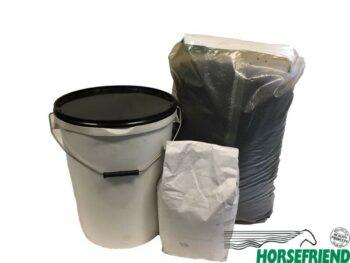 Horsefloor rubbergietvloer 50 kg; diverse kleuren